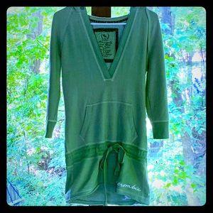 Women's Medium Green Abercrombie & Fitch Hoodie